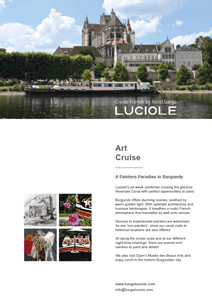 Hotel barge Luciole - Resources for travel agents