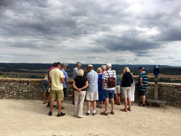 Vezelay view point