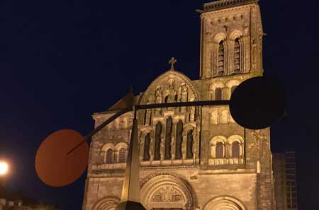 Vezelay in the evening