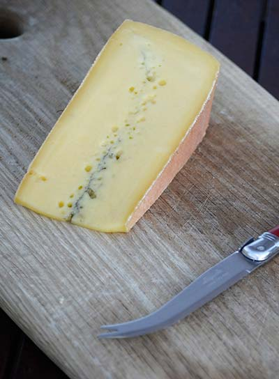French cheese Morbier