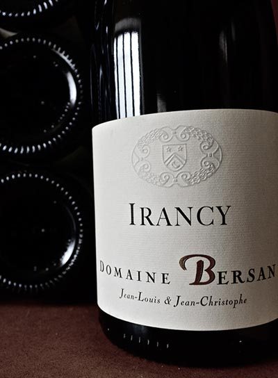 Irancy pinot noir French wine