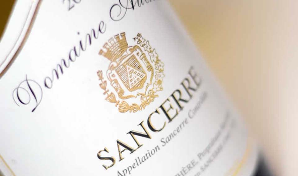 sancerre wine bottle