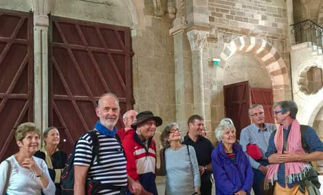 Vézelay walking group