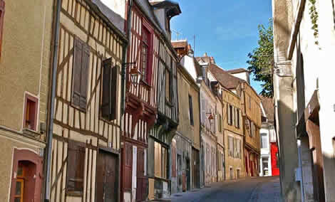 Medieval French street