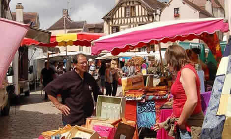 French village market