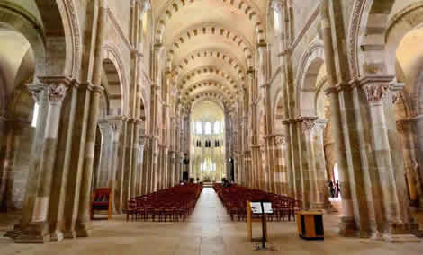 Inside Vezelay UNESCO